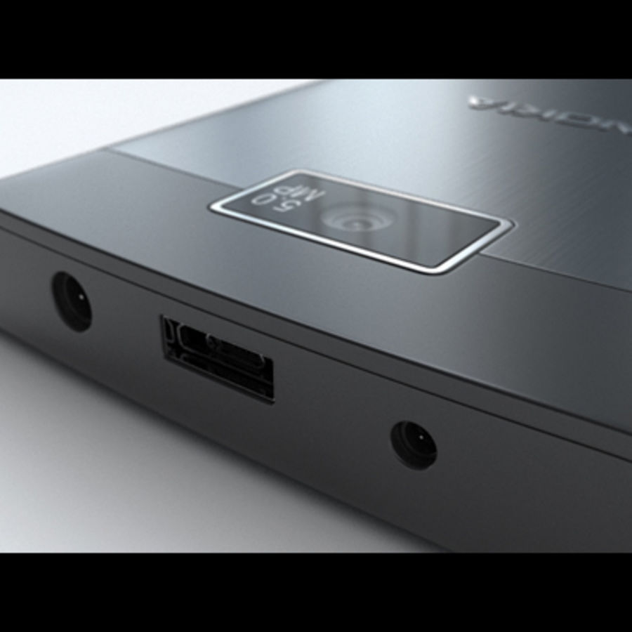 Nokia X3-02 Toque e tipo royalty-free 3d model - Preview no. 19