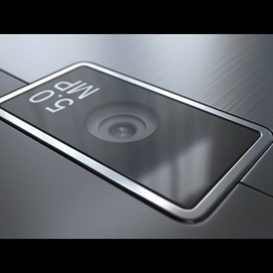 Nokia X3-02 Toque e tipo royalty-free 3d model - Preview no. 20