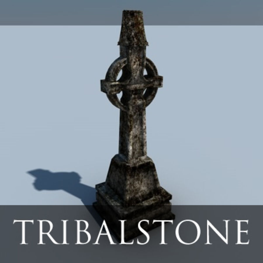TS Grave royalty-free 3d model - Preview no. 1