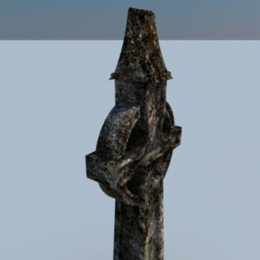 TS Grave royalty-free 3d model - Preview no. 2