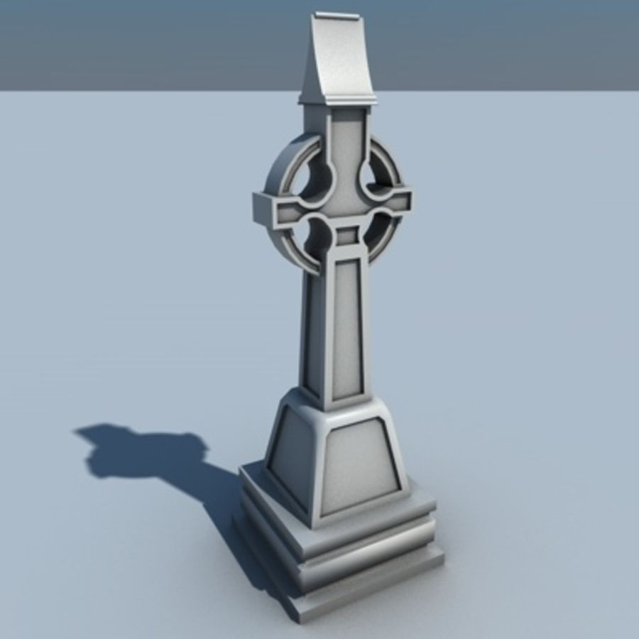 TS Grave royalty-free 3d model - Preview no. 3