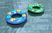inflatable swim rings 3d model