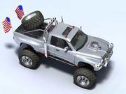 Dodge Ram Monster Truck 3d model