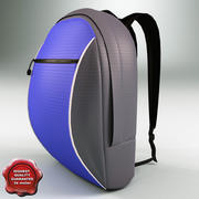 Travel Backpack 3d model