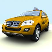 Taxi ibrido Mercedes ML450 del 2010 3d model