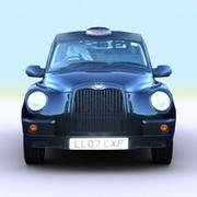 Taxi de Londres 2007 modelo 3d