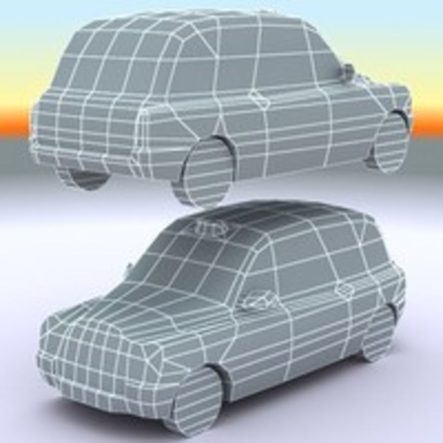 2007伦敦出租车 royalty-free 3d model - Preview no. 9