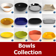 Bowl Collection 3d model