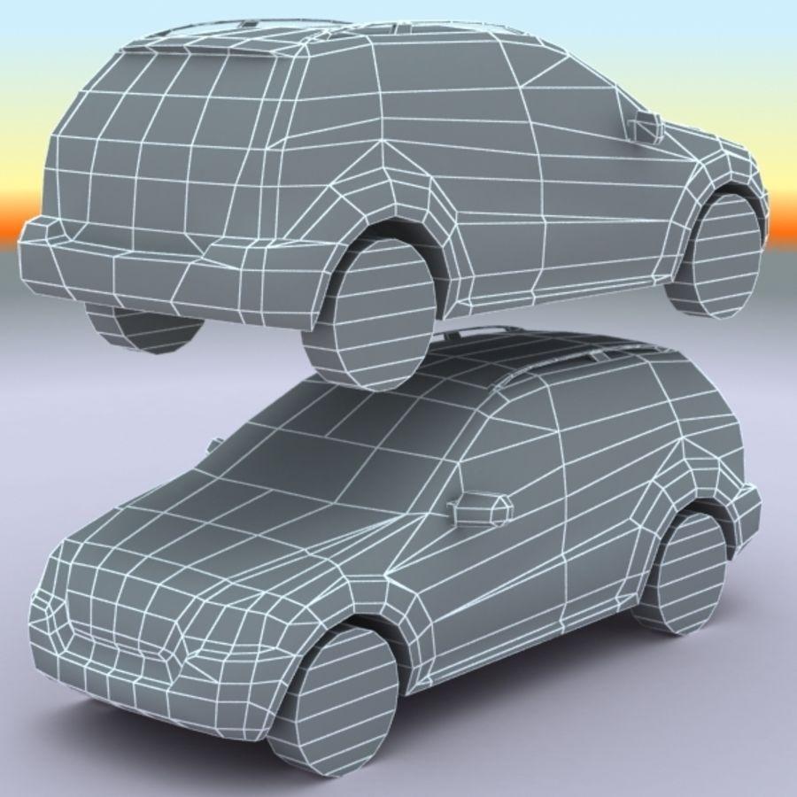 2010 Mercedes ML450 Hybrid royalty-free 3d model - Preview no. 9