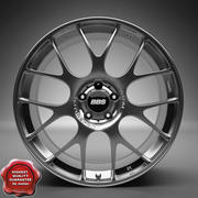 Auto Wheel Trim BBS CH 3d model
