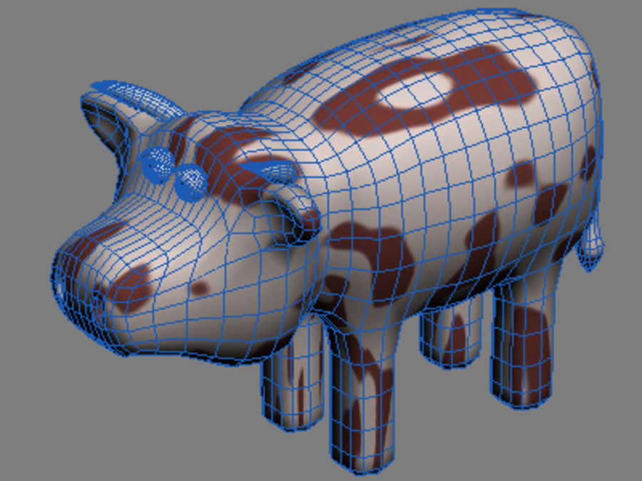 動物コレクション royalty-free 3d model - Preview no. 12