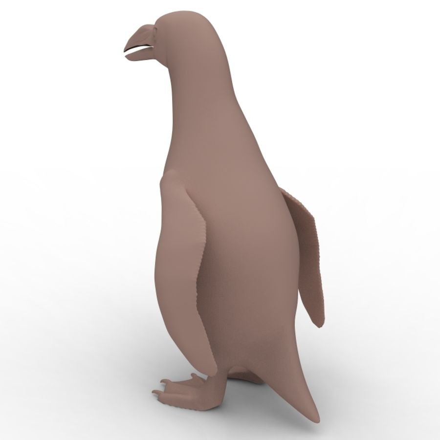 pinguïn royalty-free 3d model - Preview no. 2