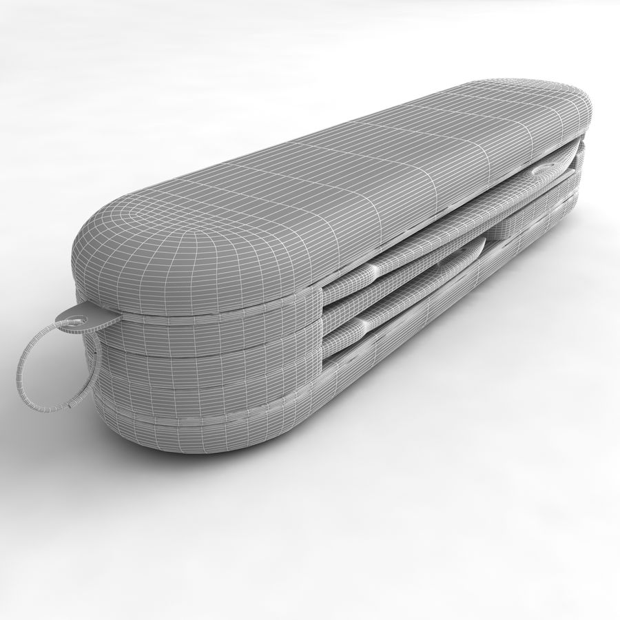 Swiss Army Knife royalty-free 3d model - Preview no. 11