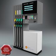 Pompe à pétrole 3d model
