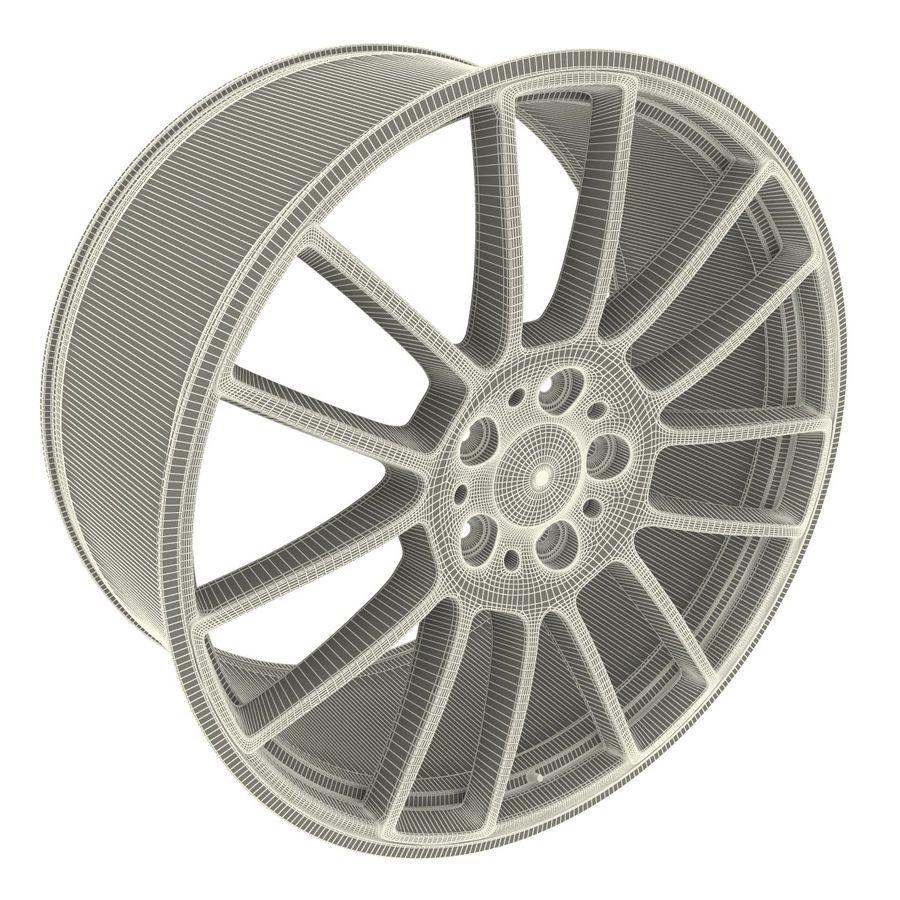 Auto Wheel Trim BBS cm royalty-free 3d model - Preview no. 9