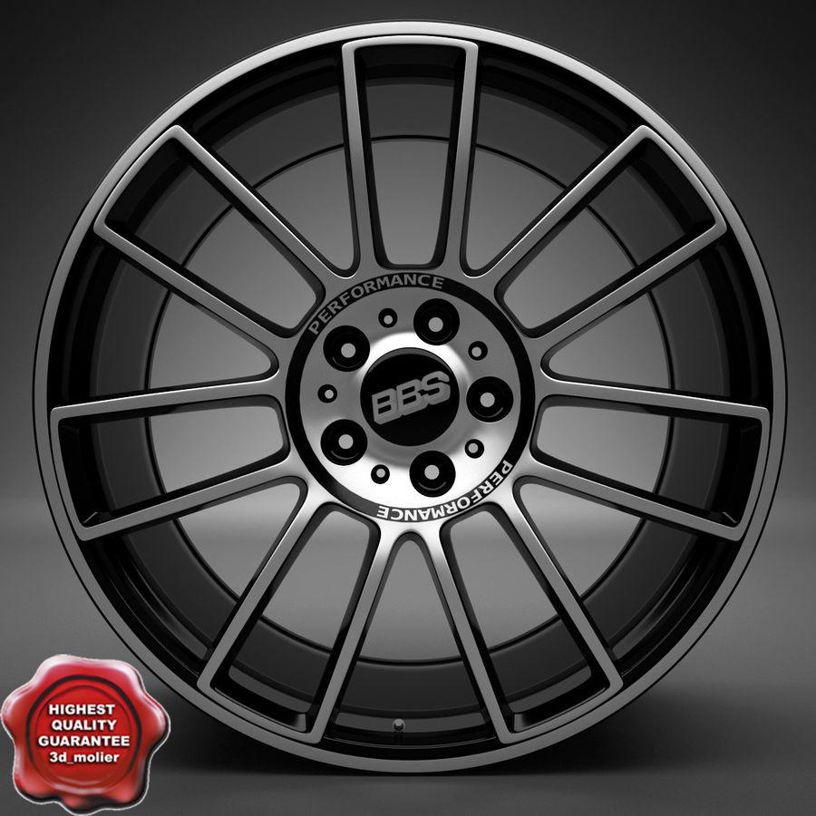 Auto Wheel Trim BBS cm royalty-free 3d model - Preview no. 1