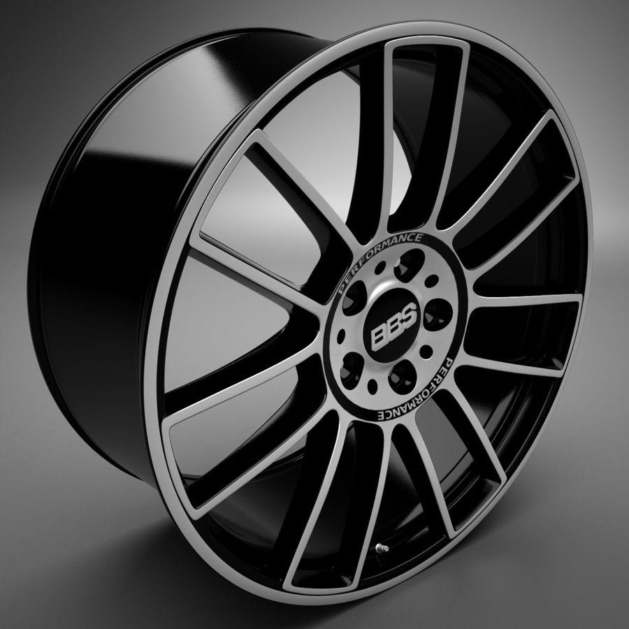 Auto Wheel Trim BBS cm royalty-free 3d model - Preview no. 2