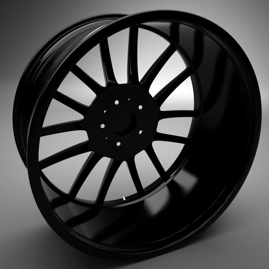 Auto Wheel Trim BBS cm royalty-free 3d model - Preview no. 4