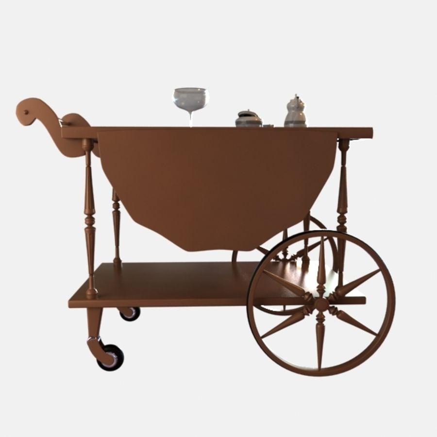 Car Tea royalty-free 3d model - Preview no. 2