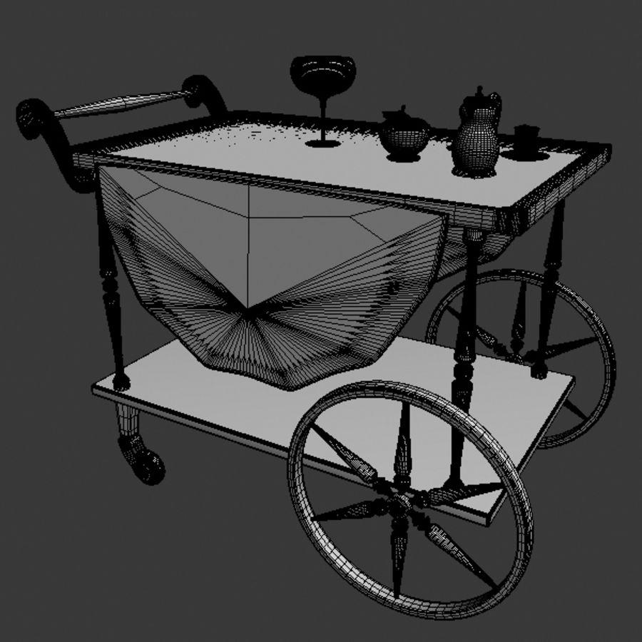 Car Tea royalty-free 3d model - Preview no. 4