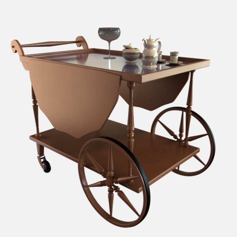 Car Tea royalty-free 3d model - Preview no. 1