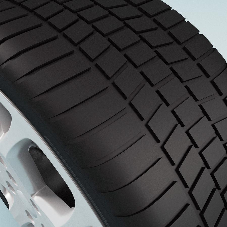 Roda de carro royalty-free 3d model - Preview no. 7