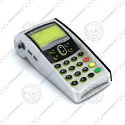 Pagamento eletrônico EDC EFT 3d model