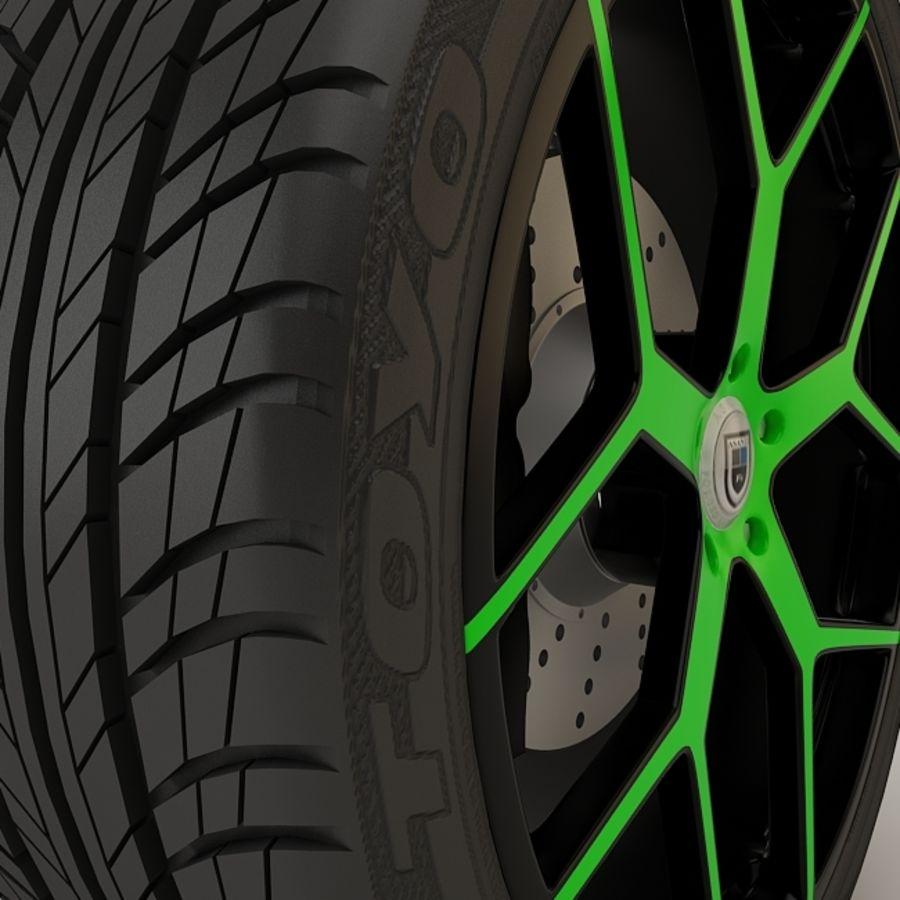 Asanti AF1 Monoblok 164 Yeşil ve Siyah royalty-free 3d model - Preview no. 2