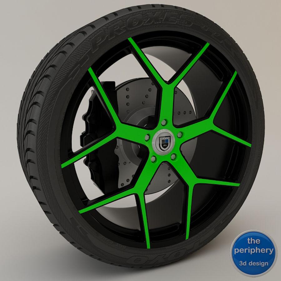 Asanti AF1 Monoblok 164 Yeşil ve Siyah royalty-free 3d model - Preview no. 1