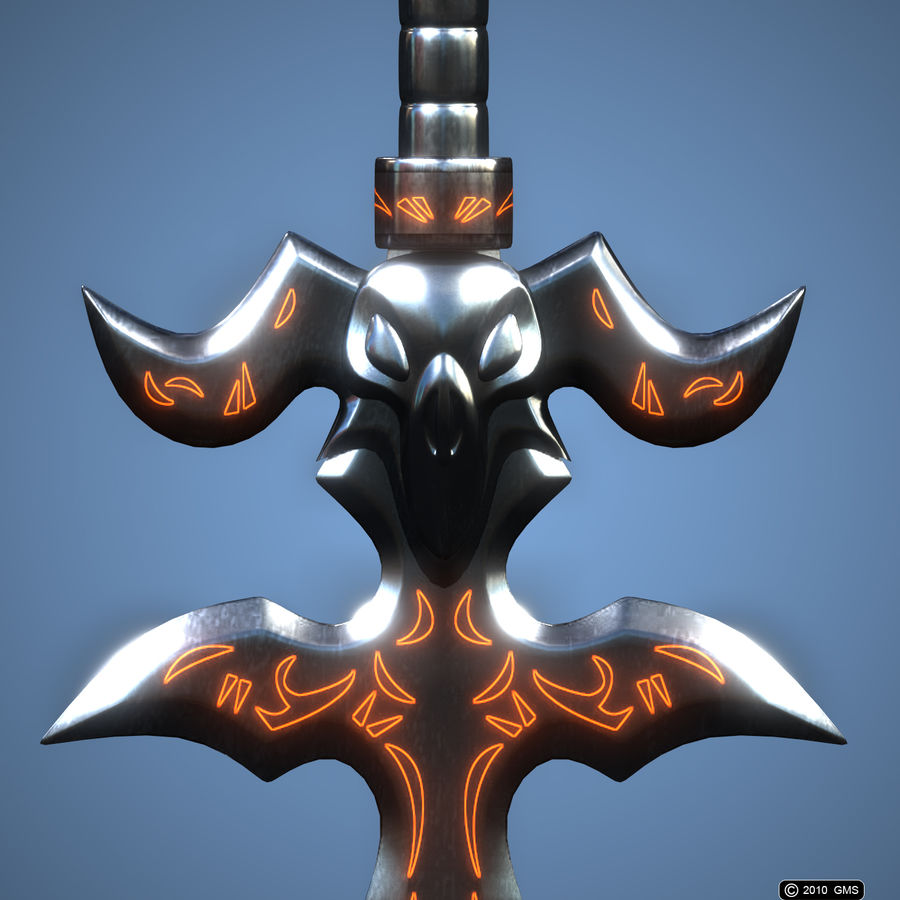 Destroyer royalty-free 3d model - Preview no. 9