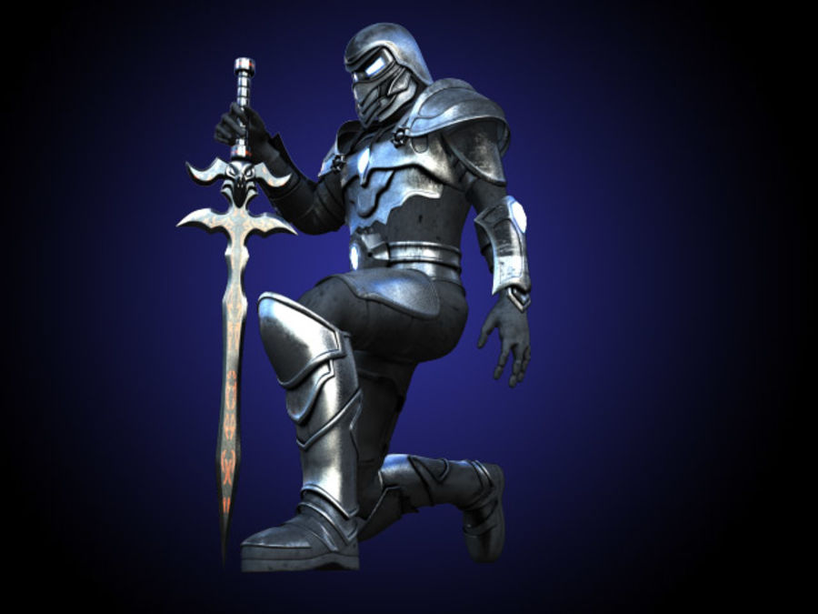 Destroyer royalty-free 3d model - Preview no. 2