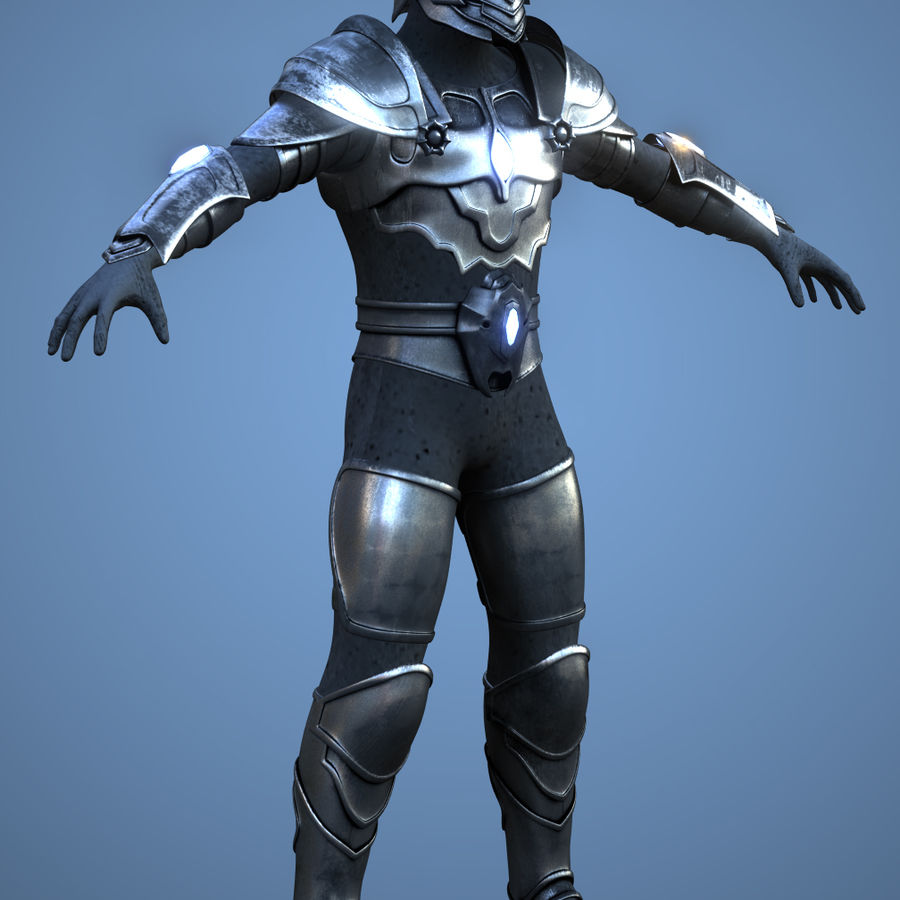 Destroyer royalty-free 3d model - Preview no. 5