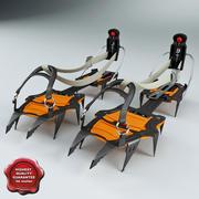 Crampones Peltz Vasak 3d model