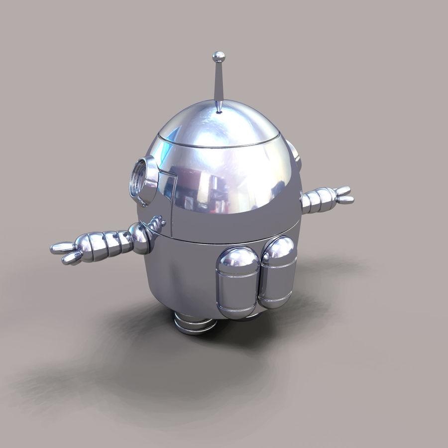 Jo Bot royalty-free 3d model - Preview no. 2