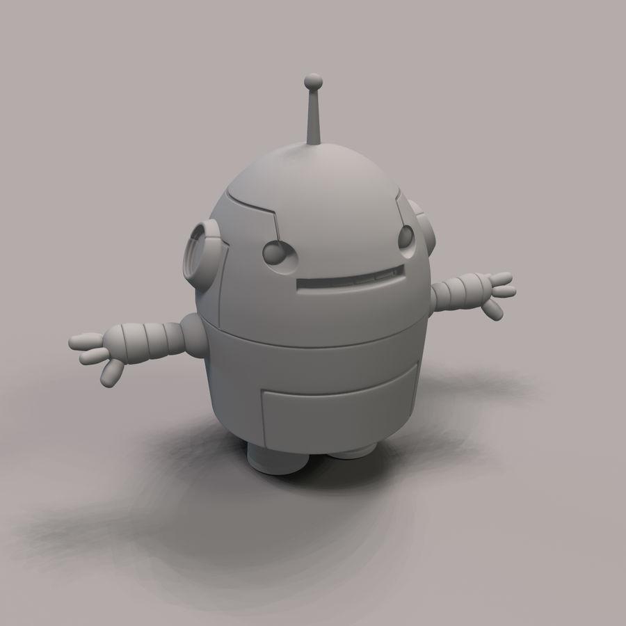 Jo Bot royalty-free 3d model - Preview no. 3