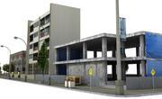 Sokak 2 (düşük poli) 3d model