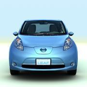 2011 Nissan Leaf 3d model