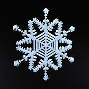 Flocon de neige 3d model