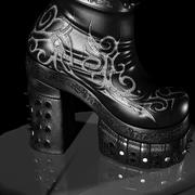 chaussures de guerrier 3d model