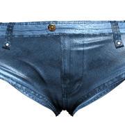 牛仔短裤 3d model