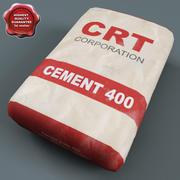 Torba cementowa 3d model