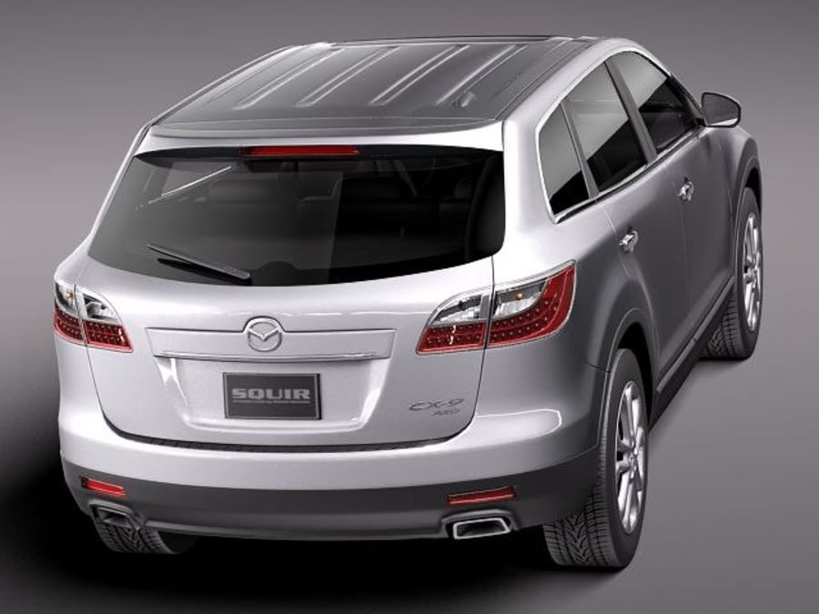 Mazda CX-9 2011 royalty-free 3d model - Preview no. 6