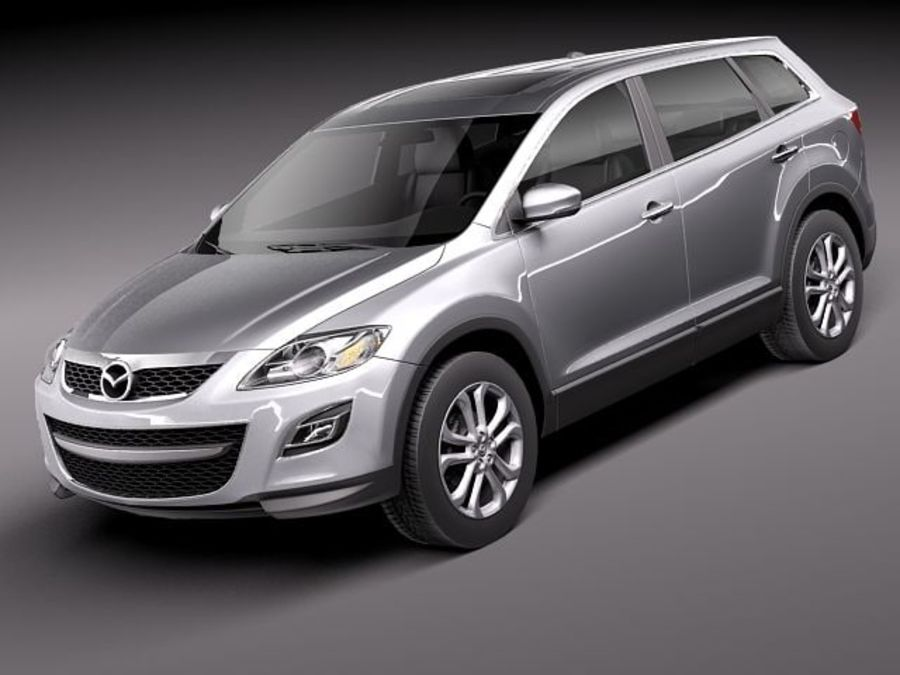 Mazda CX-9 2011 royalty-free 3d model - Preview no. 1