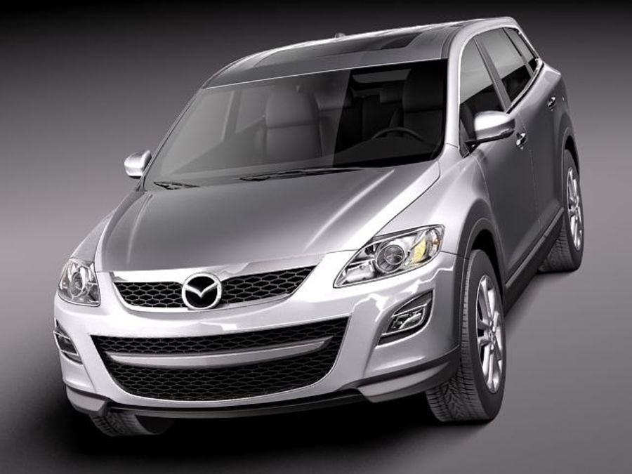 Mazda CX-9 2011 royalty-free 3d model - Preview no. 2