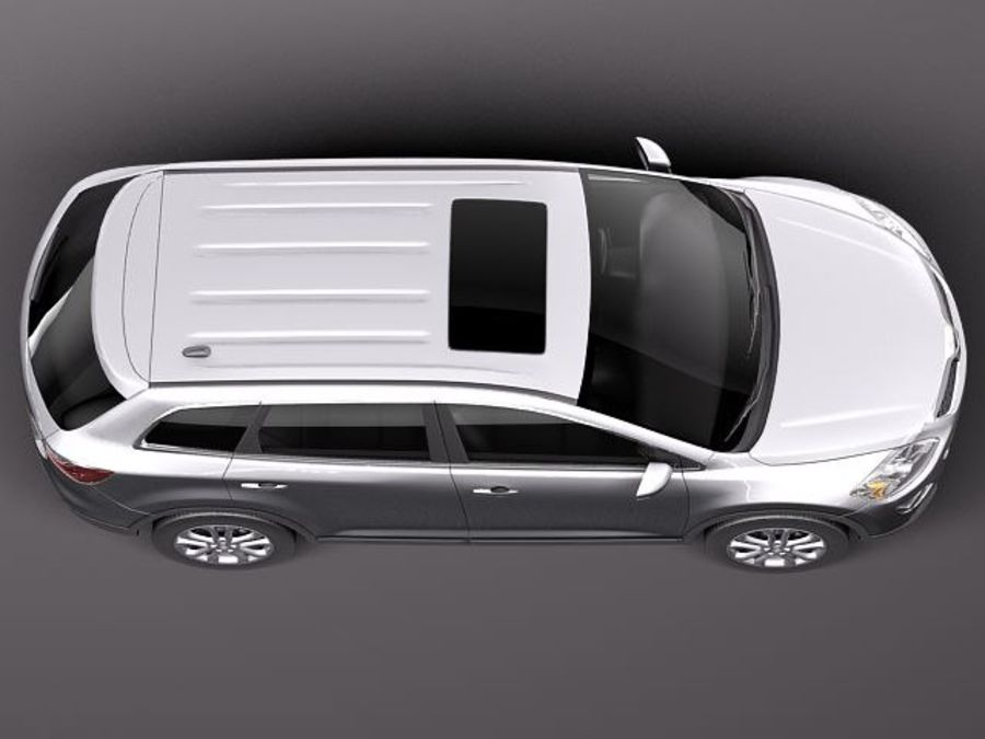 Mazda CX-9 2011 royalty-free 3d model - Preview no. 8