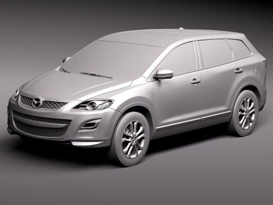 Mazda CX-9 2011 royalty-free 3d model - Preview no. 12