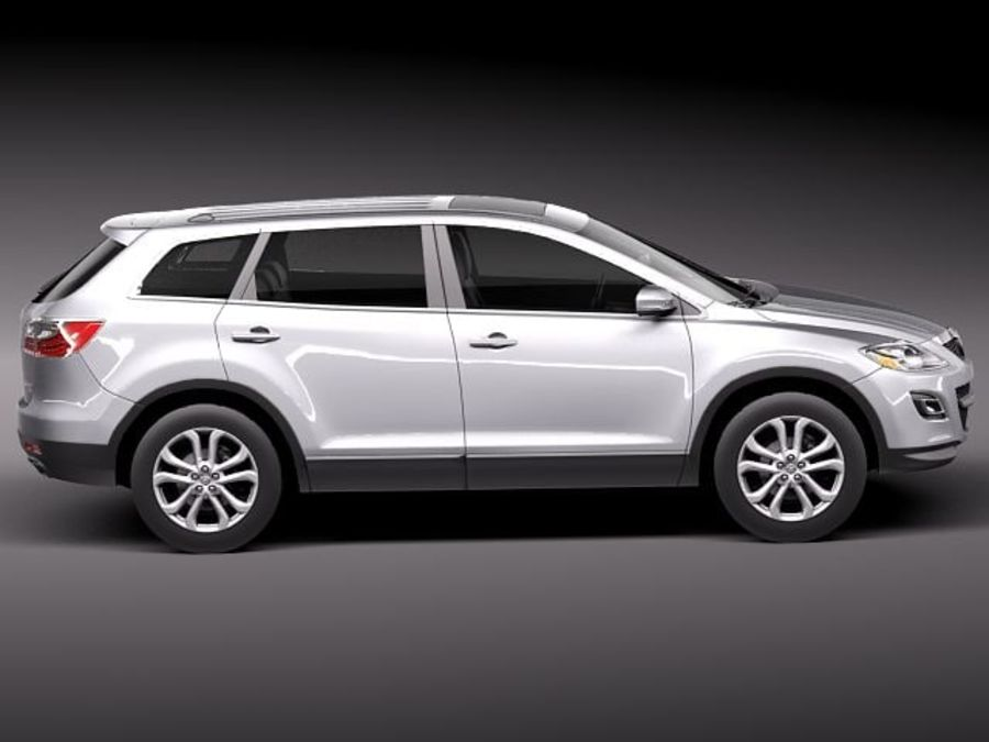 Mazda CX-9 2011 royalty-free 3d model - Preview no. 7
