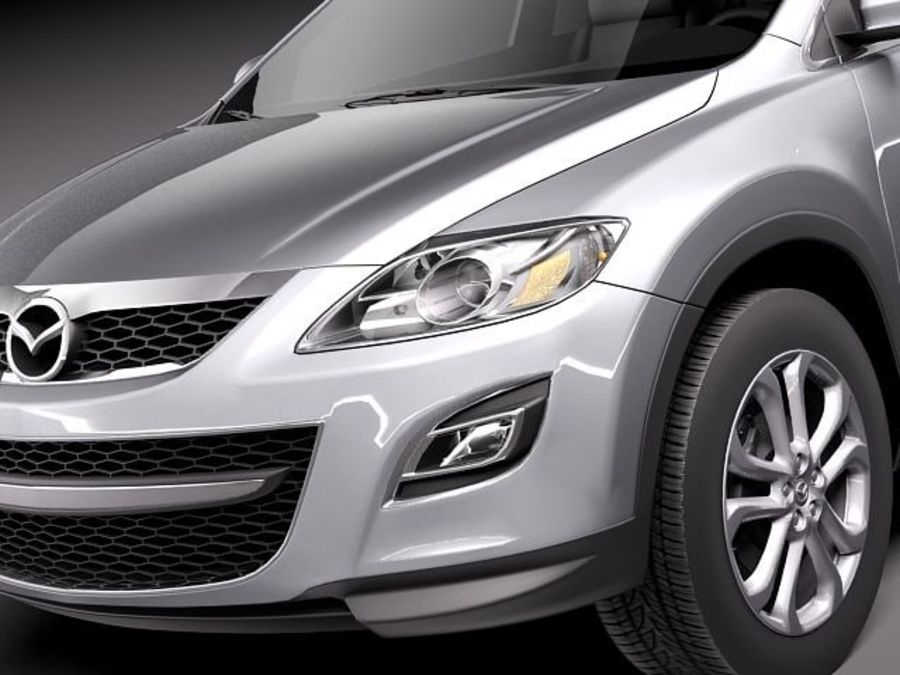 Mazda CX-9 2011 royalty-free 3d model - Preview no. 3