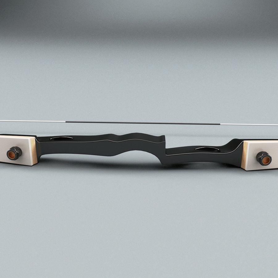 Arco Recurvo V2 royalty-free 3d model - Preview no. 4