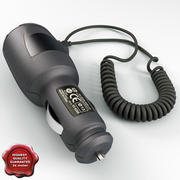 Car Auto Charger for HTC 3d model